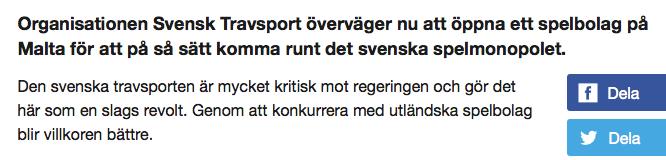 Eg dom hotar svenskt spelmonopol