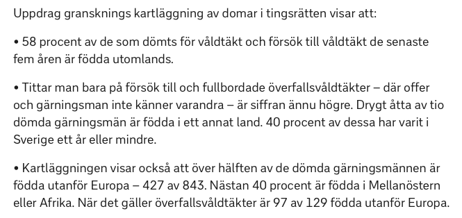 Sverige har flest anmalda valdtakter i europa